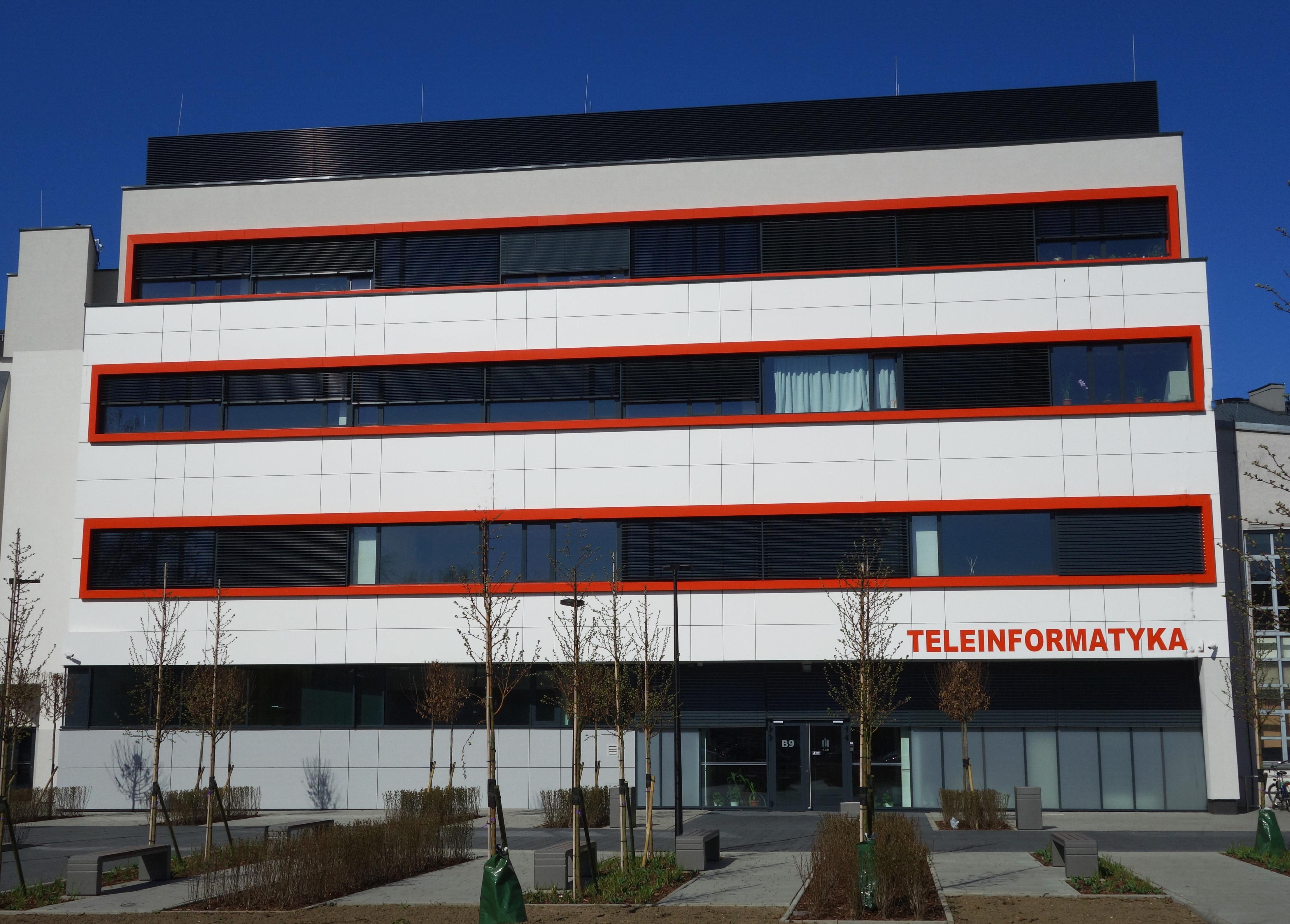 Budynek Katedry Telekomunikacji AGH